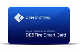 CEM DESFire Prepersonalised Smart Card