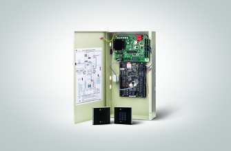 eDCM 380 door controller with sPass readers