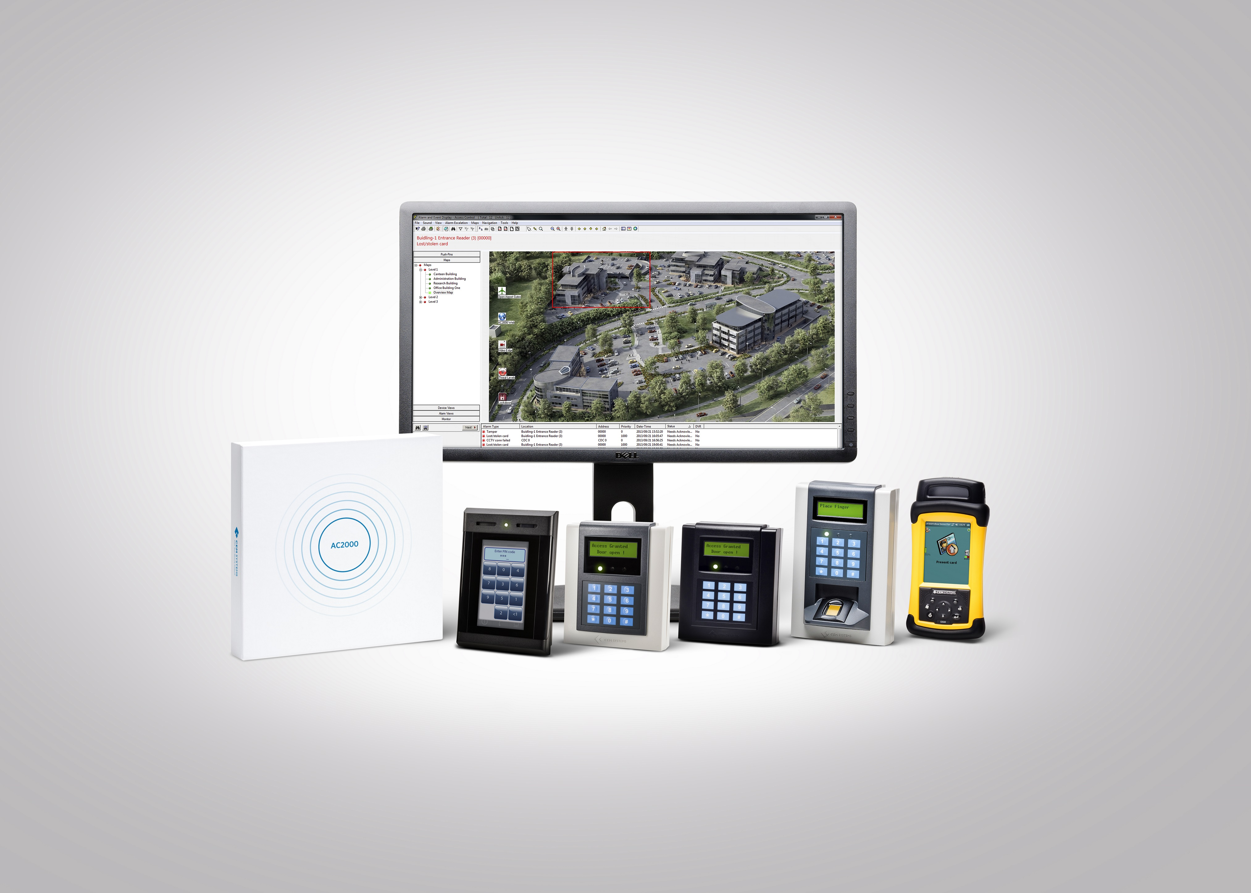 AC2000 access control & security management system