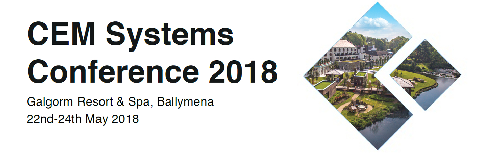 CEM Systems Conference 2018