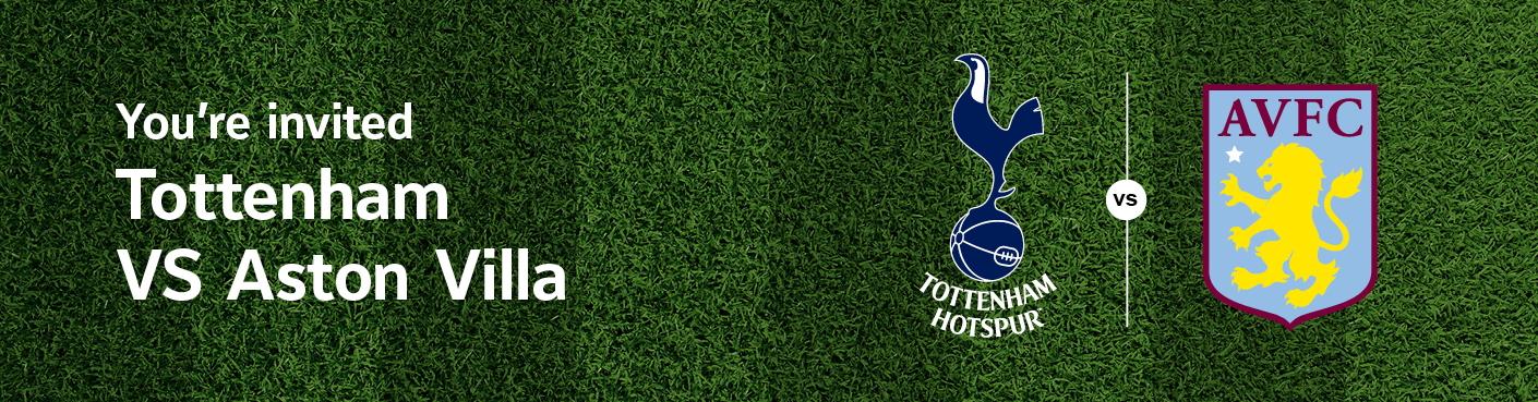 Tottenham Vs AstonVilla hospitality